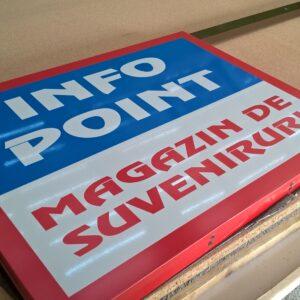 Sistem de afisaj infopoint